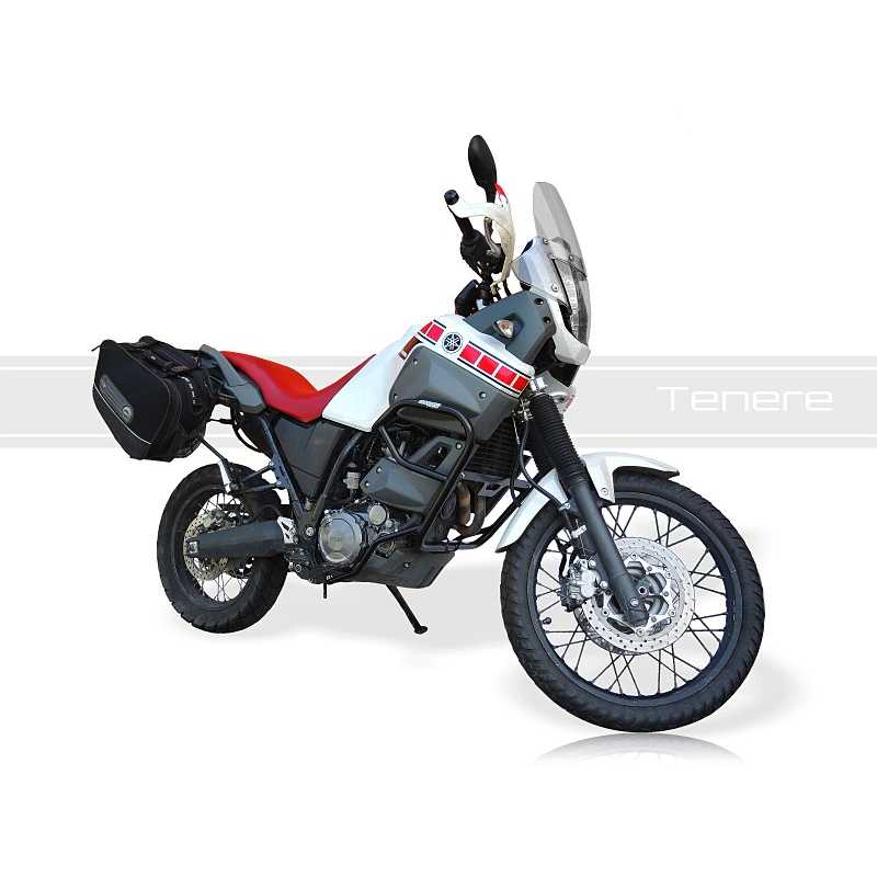 yamaha xt660z tenere 2008 2015 crash frame black dim. Black Bedroom Furniture Sets. Home Design Ideas