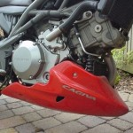 Cagiva Raptor 650 - V Twin Belly Pan