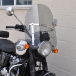 Triumph Bonneville - Custom Cruiser Screen
