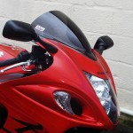 Suzuki GSX1300R Hayabusa 2008» - Double Bubble Screen