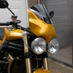 Triumph 1050 Speed Triple - RR-2 Cockpit Deflector Fairing