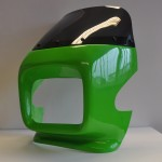 GPZ Style Cockpit Fairing Kit (Square Headlight) 20cm wide 13 cm in height