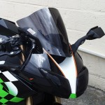 Kawasaki ZX10R 2008-10 - Double Bubble Screen