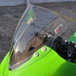 Kawasaki Ninja EX300R - Double Bubble Screen