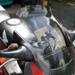 Honda CBR600 FS-W 95-98 - Flip-up-Tall Screen
