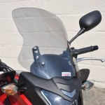 Honda CB500X 2013 - Flip up/Tall Screen