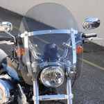 Harley Davidson 883 Sportster 2012on - Custom Cruiser Screen