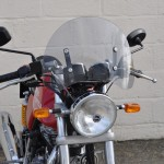 Royal Enfield Continental GT 2013 - Retro Flyscreen kit.