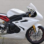 Triumph T675 2013- Race Fairing - White