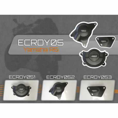 Yamaha R6 2006-16 - Engine Cover Set (ECRDY05)