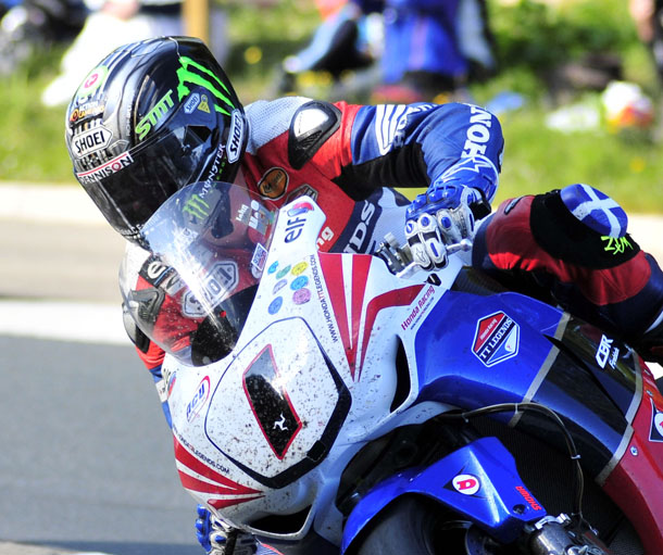 John McGuinness Senior TT 2011