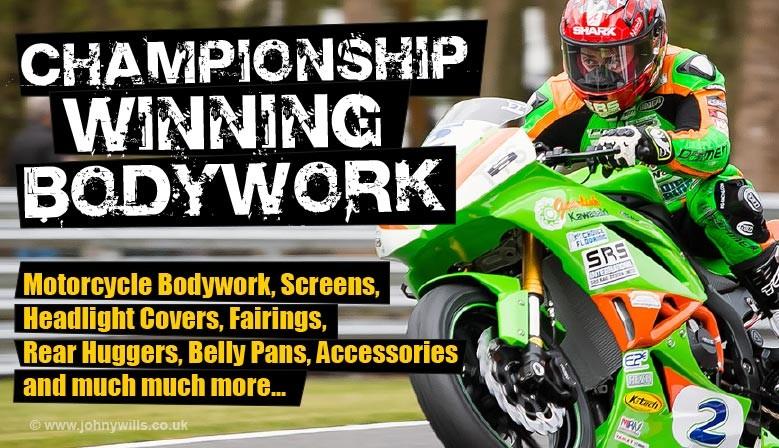 Skidmarx Motorcyle Bodywork, Screens, Fairings and Huggers