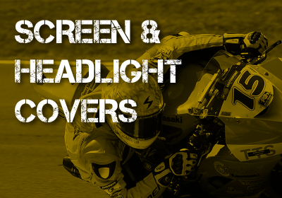 Motorcycle Screen & Headlight Covers